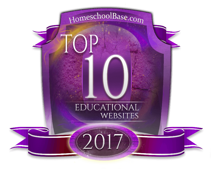 HomeSchoolBase.com Top Educational Sites of 2017