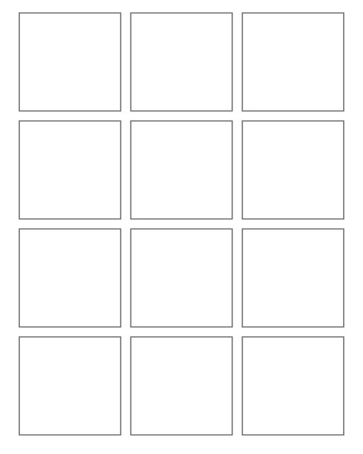 Comic strip template printables in PDF format for manga, newspaper or other styles. Panel 3 panel, 4 panel, 5 panel and more layouts in various styles, including with speech bubbles. 3 Panel 3 By 4