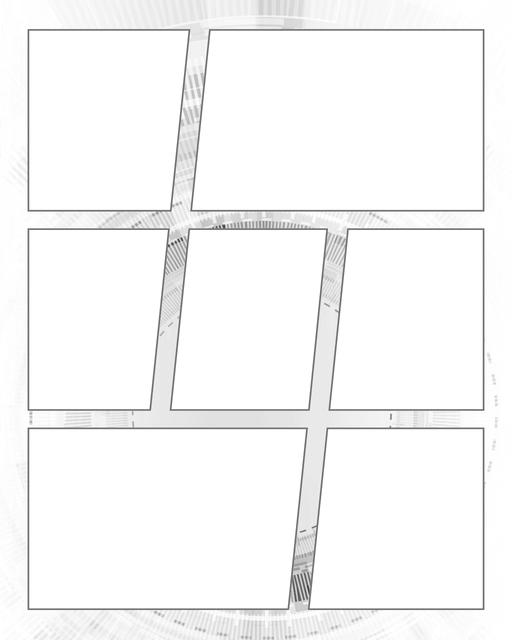 Comic strip template printables in PDF format for manga, newspaper or other styles. Panel 3 panel, 4 panel, 5 panel and more layouts in various styles, including with speech bubbles. Background Scifi 7 Panel V2