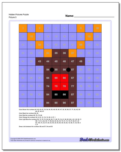 Hidden Pictures Puzzle