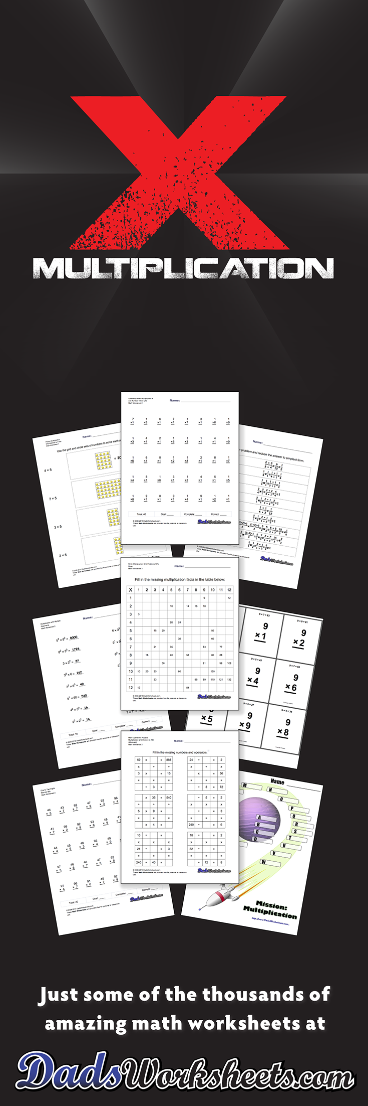 784 Multiplication Worksheets for You to Print Right Now – Base Ten Multiplication Worksheets