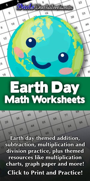 Earth Day Math Worksheets