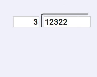 Visual Long Division Calculator