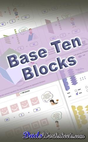 Base Ten Blocks PDF