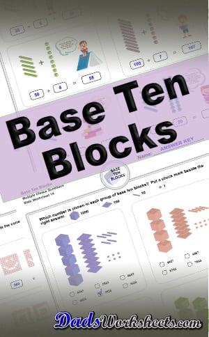 Printable Base Ten Blocks