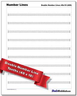 Double Number Lines Worksheet #Number #Line #Worksheet