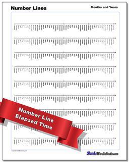 Time, Money and Temperature Number Lines Worksheet #Number #Line #Worksheet