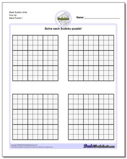 photo about Printable Sudoku Grids named Blank Sudoku