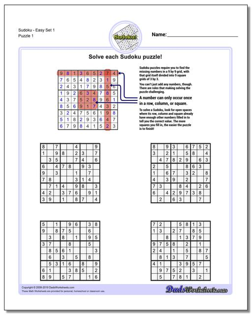 picture regarding 16 Square Sudoku Printable named Sudoku