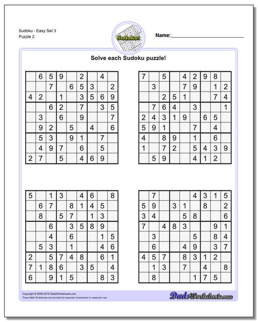 image relating to 16 Square Sudoku Printable identified as Sudoku - Straightforward