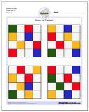 Sudoku for Kids Puzzle Set 5 www.dadsworksheets.com/puzzles/sudoku.html