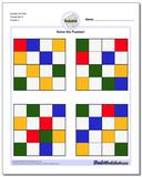 Sudoku for Kids Puzzle Set 4 www.dadsworksheets.com/puzzles/sudoku.html