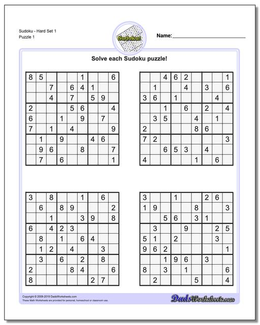 Sudoku Download Pdf