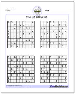 photograph relating to Hard Sudoku Puzzles Printable named Sudoku - Challenging