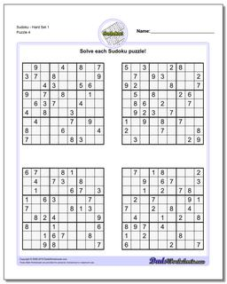 photo regarding Difficult Sudoku Printable called Sudoku - Challenging