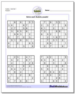 photo regarding Hard Sudoku Puzzles Printable known as Sudoku - Tough