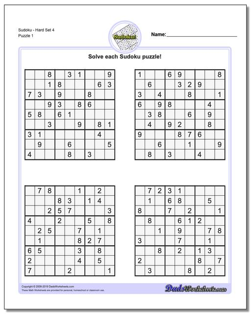 picture about Sudoku Printable Hard titled Sudoku - Challenging