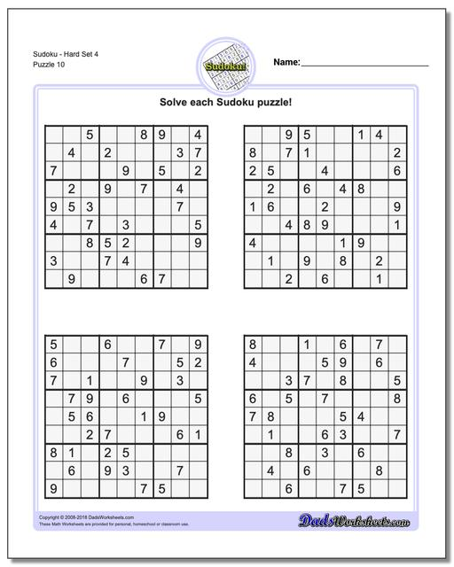 It is an image of Fabulous Printable Sudoku Puzzles Hard