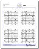 SudokuHard Set 4 Worksheet