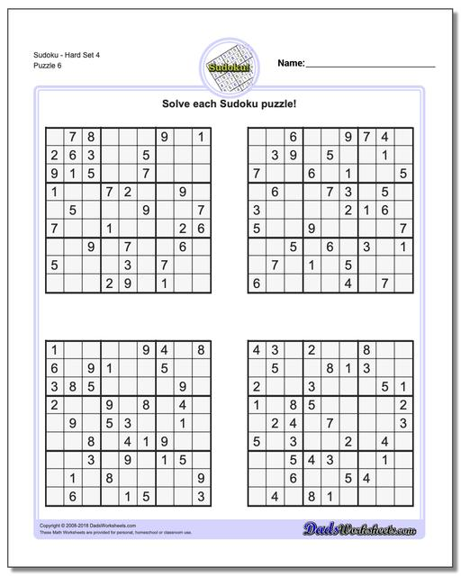 It is a photo of Impertinent Printable Sudoku Puzzles Hard