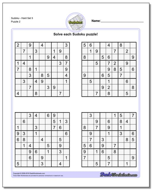 graphic about Sudoku Printable Pdf identify Sudoku - Challenging