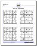 SudokuHard Set 5 Worksheet