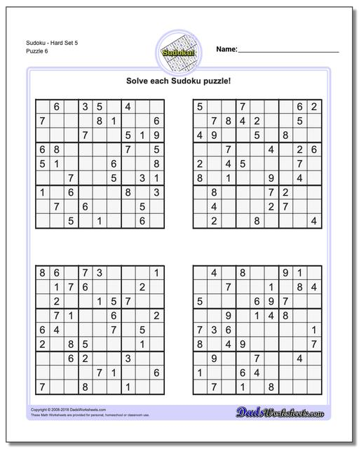 This is a picture of Vibrant Sudoku Hard Printable