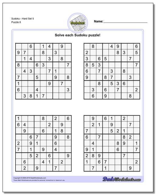 Sudoku - Hard