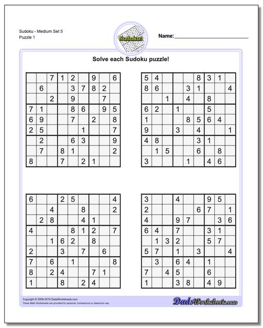 Transformative image throughout sudoku printable medium
