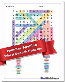 Math Terms Word Search Puzzle