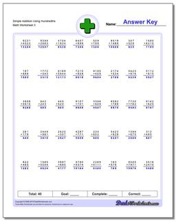 Simple Addition Worksheet Using Hundredths #Addition #Worksheet