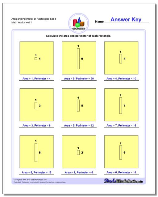 photograph about Area and Perimeter Printable Games known as Nearby and Perimeter of Rectangles