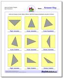 Name the Rotated Triangles Worksheet