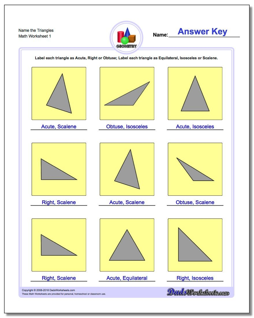 Basic Shapes – Basic Shapes Worksheets