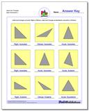 Name the Triangles Worksheet