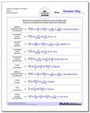 Length and Distance Conversion Worksheet Mixed 2