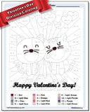 Valentine's Day Division Color by Number Worksheet
