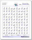 Fact Family Math O 7x3=21, 8x3=24 Worksheet