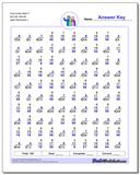 Fact Family Math P 8x7=56, 8x6=48 Worksheet