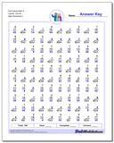 Fact Family Math R 7x6=42, 7x5=35 Worksheet