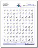 Fact Family Math U All Problems Worksheet Practice www.dadsworksheets.com/worksheets/fact-family-math.html