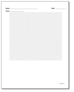Single Problem Coordinate Plane Worksheet Paper #Graph #Paper