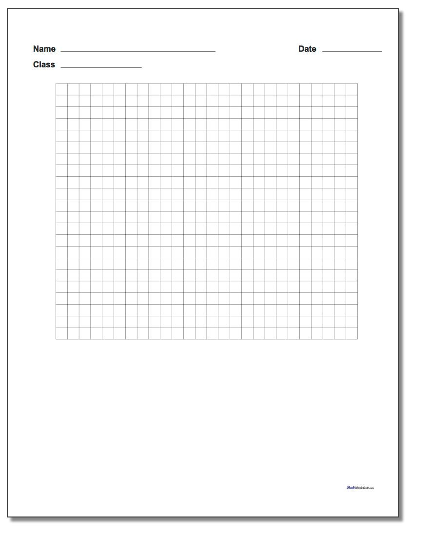 Graph Paper Single Problem Coordinate Plane Worksheet