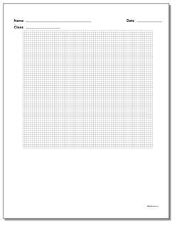 Single Problem Coordinate Plane Worksheet Paper #Graph #Paper