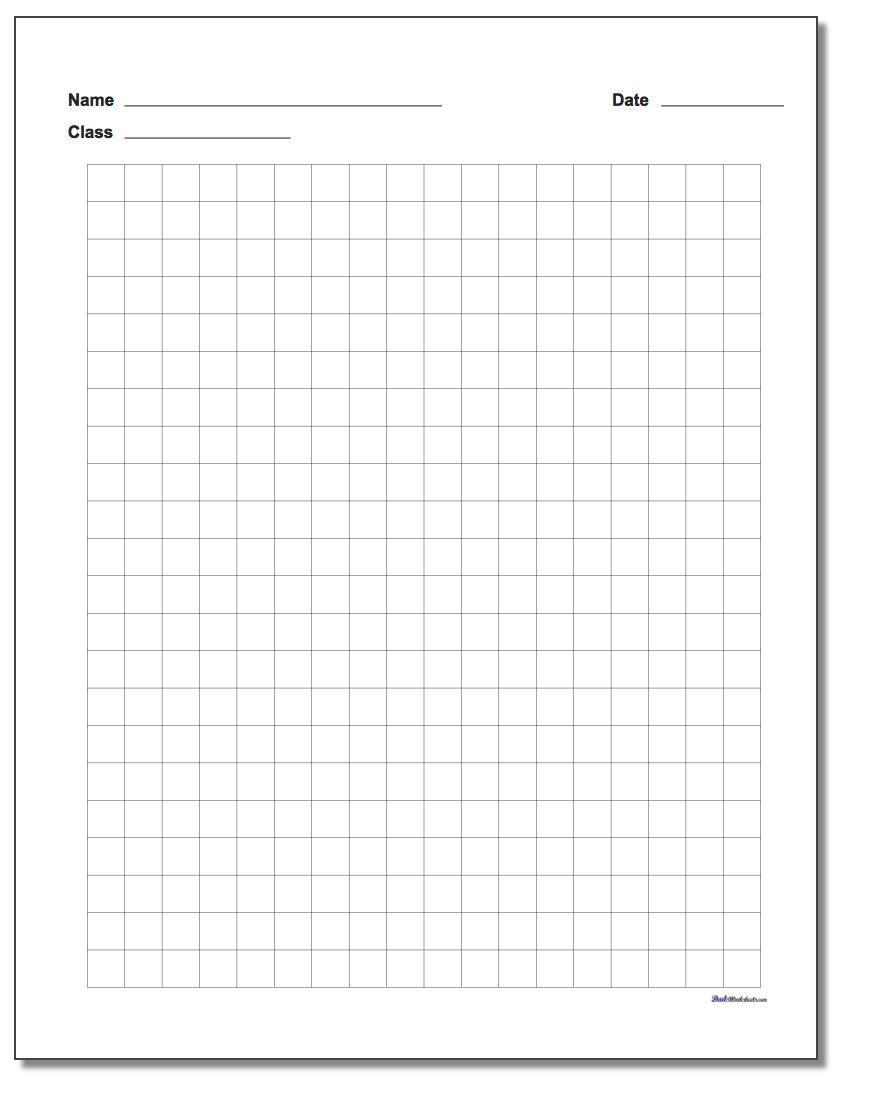 Graph Paper Plain Metric