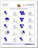 Fraction Worksheet from Drawing Mixed Fractions 1 www.dadsworksheets.com/worksheets/graphic-fractions.html