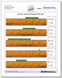 Measure Inches All Lengths, All Starts 1 www.dadsworksheets.com/worksheets/inches-measurement.html Worksheet