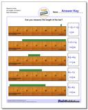 Measure Inches All Lengths, All Starts 2 www.dadsworksheets.com/worksheets/inches-measurement.html Worksheet