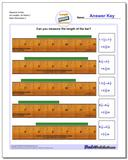Measure Inches All Lengths, All Starts 2 Worksheet
