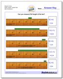 Measure Inches Eighth Lengths, Quarter Start www.dadsworksheets.com/worksheets/inches-measurement.html Worksheet